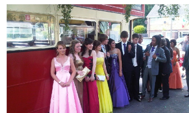 going to the prom